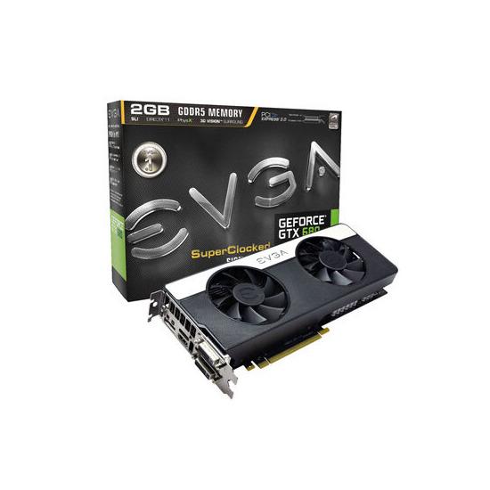 EVGA  GeForce GTX 680 SC Signature 2  2GB