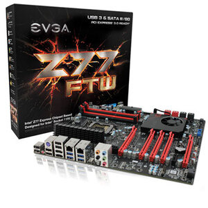 Photo of EVGA Z77 FTW E-ATX Motherboard