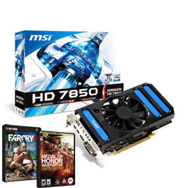 MSI Overclocked Radeon HD 7850 1GB Reviews