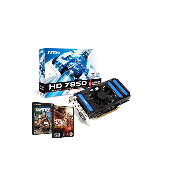 MSI Overclocked Radeon HD 7850 1GB