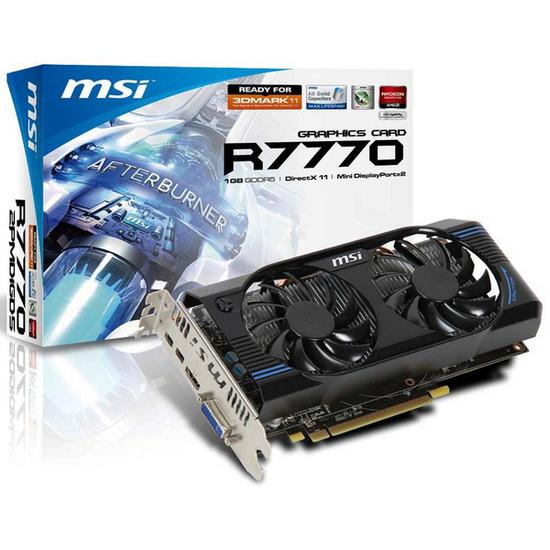 MSI Radeon HD 7770 OC 1GB