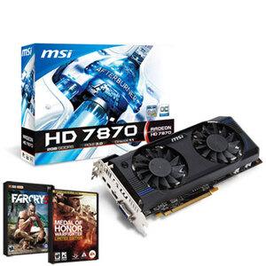 Photo of MSI AMD R7870 2GB Graphics Card
