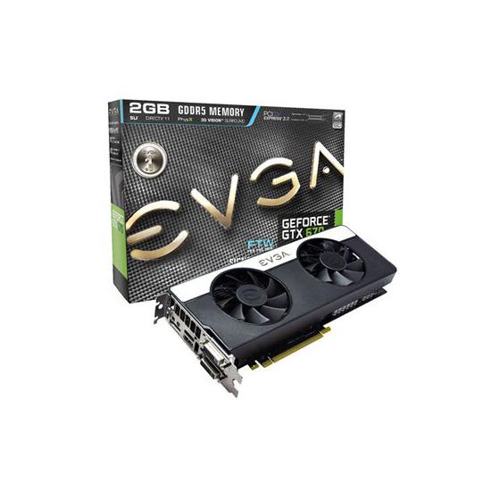 EVGA GeForce GTX 670 FTW Signature 2 2GB