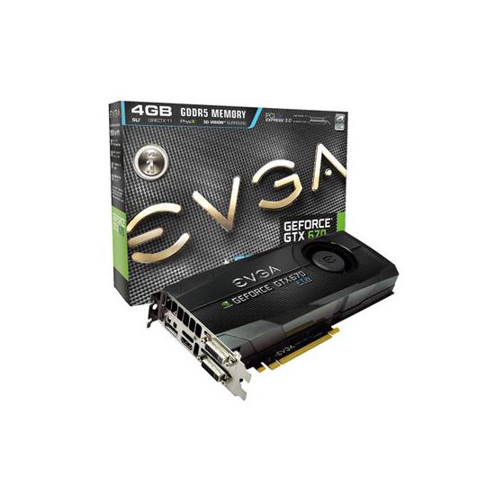Evga GTX-670 FTW+ 4GB