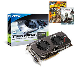 MSI nVidia GTX 660 Ti 3GB Reviews