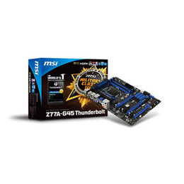 MSI Z77A-G45 Thunderbolt Reviews