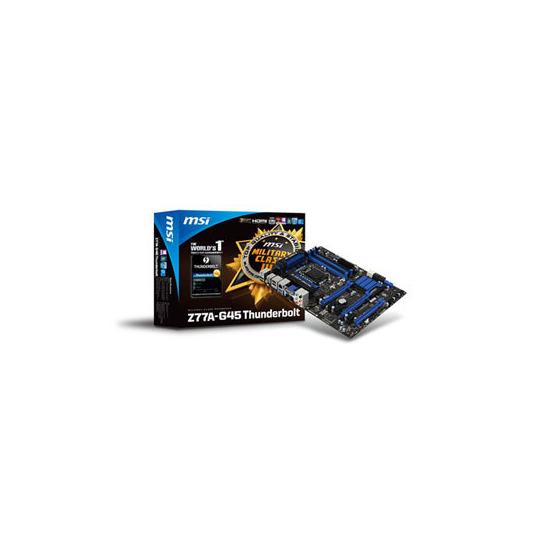 MSI Z77A-G45 Thunderbolt Chipset Z77 Intel Socket 1155