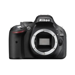 Nikon D5200 SLR Camera Black Body Only 24MP