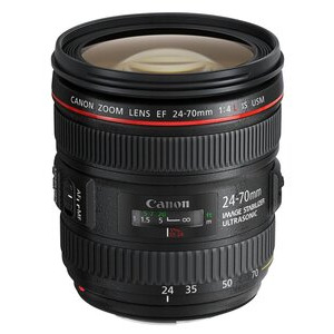 Photo of Canon EF 24-70MM F/4L IS USM Lens
