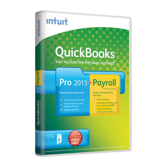 Intuit QuickBooks Pro 2013 and Payroll