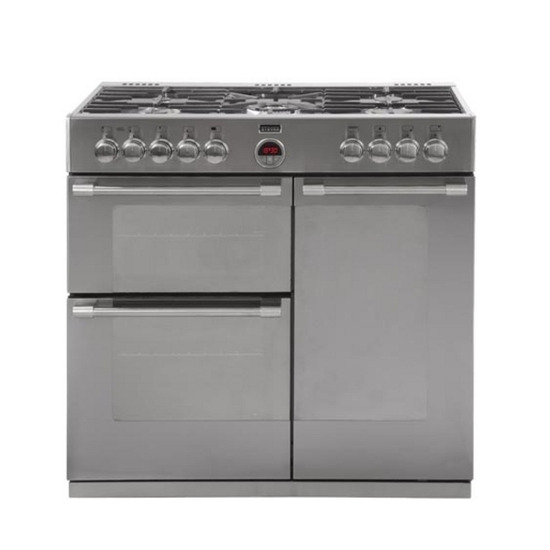 Stoves 900DFT Dual Fuel Range Cooker - Stainless Steel - Trade-in offer