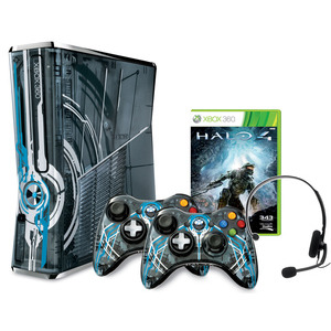 Photo of Microsoft XBOX 360 320GB Limited Edition Halo 4 Console Games Console