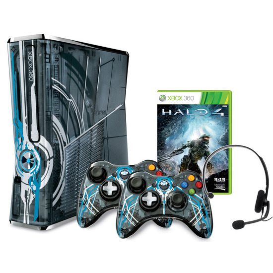 Microsoft Xbox 360 320GB Limited Edition Halo 4 Console