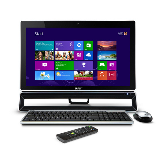 """Acer Aspire ZS600 23"""" Touchscreen All-in-One PC"""