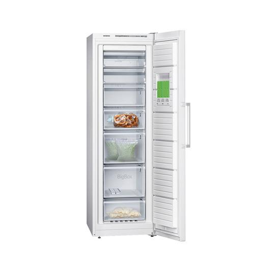 SIEMENS GS36NVW30G Tall Freezer - White
