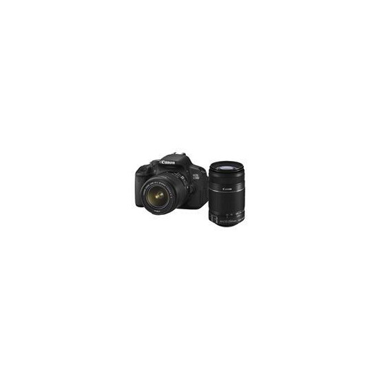 Canon EOS 650D with 18-55mm and 55-250mm IS Lenses