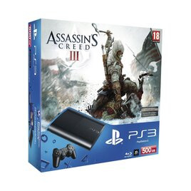 Sony PlayStation 3 500GB Console with Assassin's Creed 3