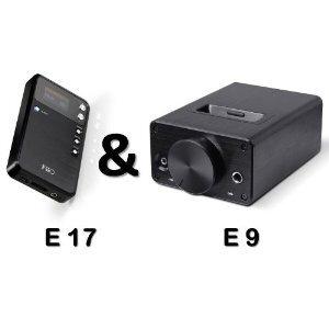 Photo of FiiO E17 and FiiO E09K  Amplifier