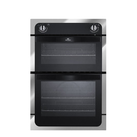 NEW WORLD NW901DO CHR Electric Double Oven - Charcoal