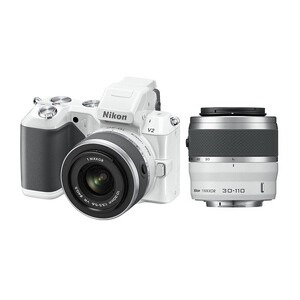 Photo of Nikon 1 V2 With 10-30MM and 30-110MM VR Lens Digital Camera