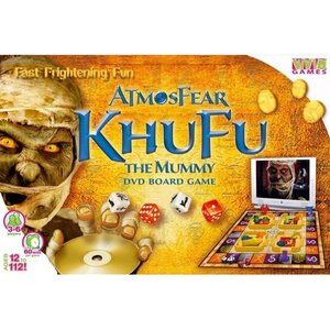 Photo of Atmosfear Khufu The Mummy DVD Game Board Games and Puzzle
