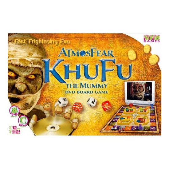 Atmosfear Khufu The Mummy DVD Game