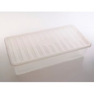 Photo of Plastic Under Bed Storage Container - 42 Litre Household Storage