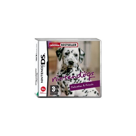 Nintendogs - Dalmation and Friends on Nintendo DS
