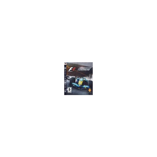 F1 Championship Edition (PS3)