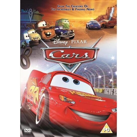 Cars (2006) DVD