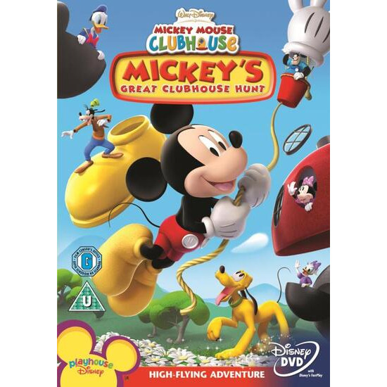 Disney's Mickey Mouse Clubhouse - Mickey's Great Clubhouse (2007) DVD