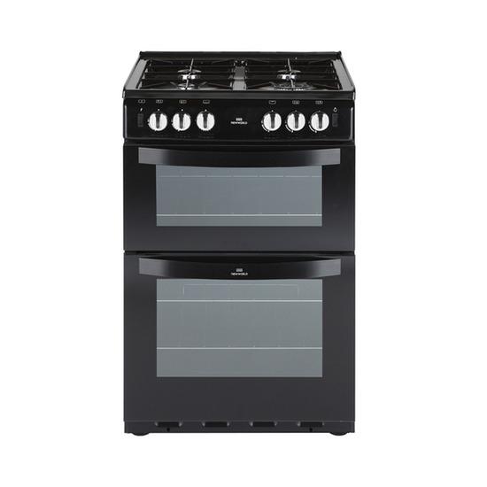 New World 551GTC Gas Cooker - Black