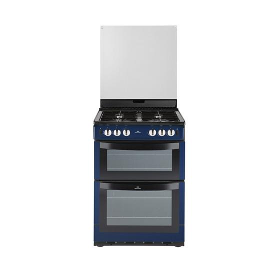 New World 601GDOL Gas Cooker - Metallic Blue
