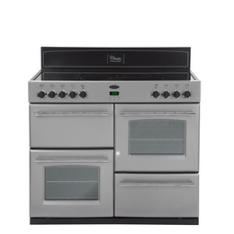 Belling Classic 110E Electric Ceramic Range Cooker - Silver Reviews