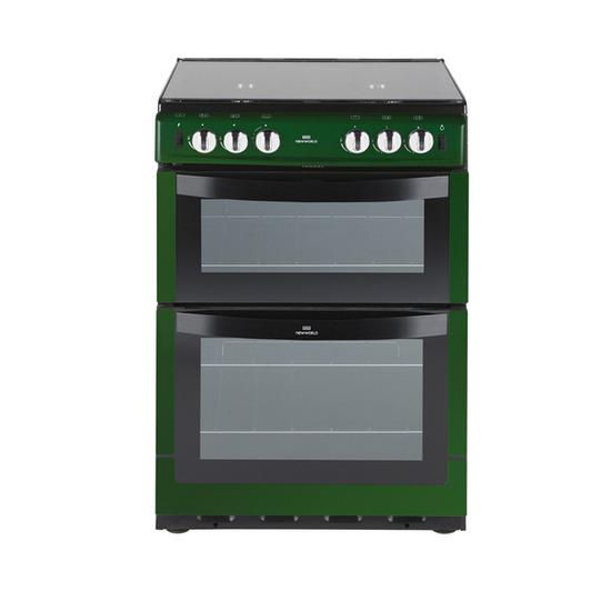 New World 601GDOL Gas Cooker - Green