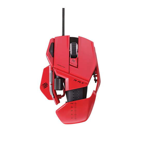 MAD CATZ R.A.T. 5 Laser Gaming Mouse - Red