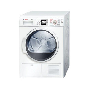 Photo of Bosch Exxcel 8 WTS86500GB Condenser Tumble Dryer - White Tumble Dryer
