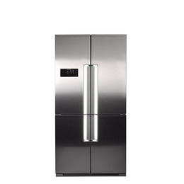 Sandstrom S4SSFF12 American-Style Fridge Freezer - Stainless Steel Reviews