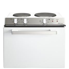 Belling Ba121R Tabletop Cooker - White Centenary