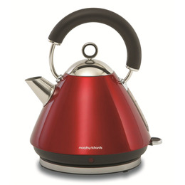 Morphy Richards 43772 Pyramid Accents Cordless Kettle - Translucent Red