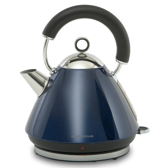 Morphy Richards 43770 Pyramid Accents Cordless Kettle - Translucent Blue