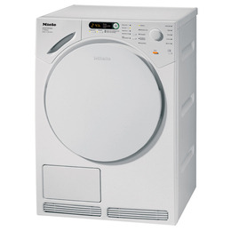Miele T7644C Condenser Tumble Dryer - White