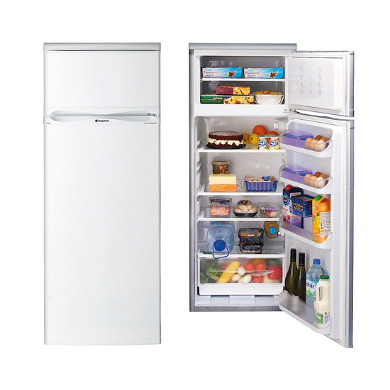 Hotpoint RTAA42P Polar White 184L Net Fridge 43L Net Freezer Capacity 550mm Wide 1390mm High A Rated Fridge Freezer