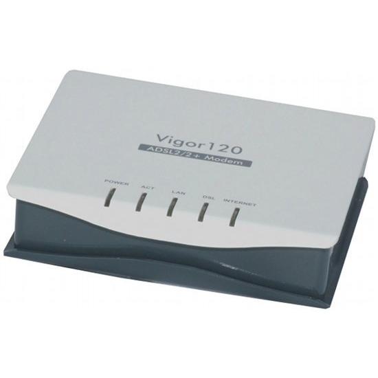 DrayTek Vigor 120 ADSL2+ Ethernet Modem