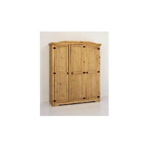 Photo of Catarina Triple Wardrobe Antique Pine Furniture