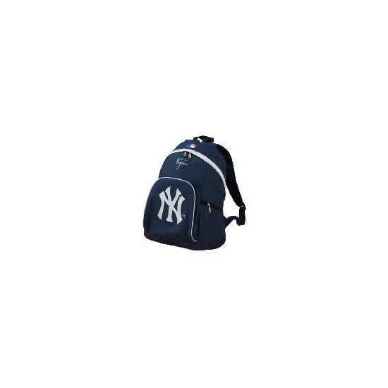 NY Yankees Backpack Navy/White