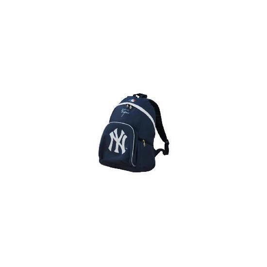 NY Yankees Backpack Navy/White