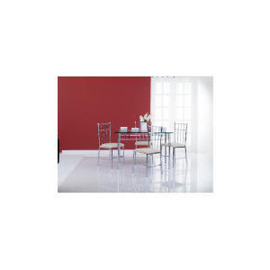 Photo of Franz Dining Table & 4 Chair Set Furniture