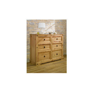 Photo of Catarina 6 Drawer Chest, Antique Pine Furniture