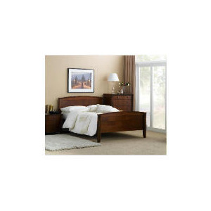 Photo of Montrose King Bed Frame, Cherry Veneer Bedding